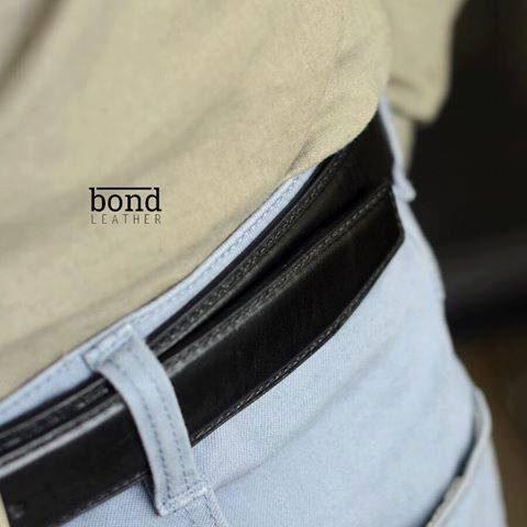 Dây lưng da bò Veg - ý cao cấp kết hợp quần Jean