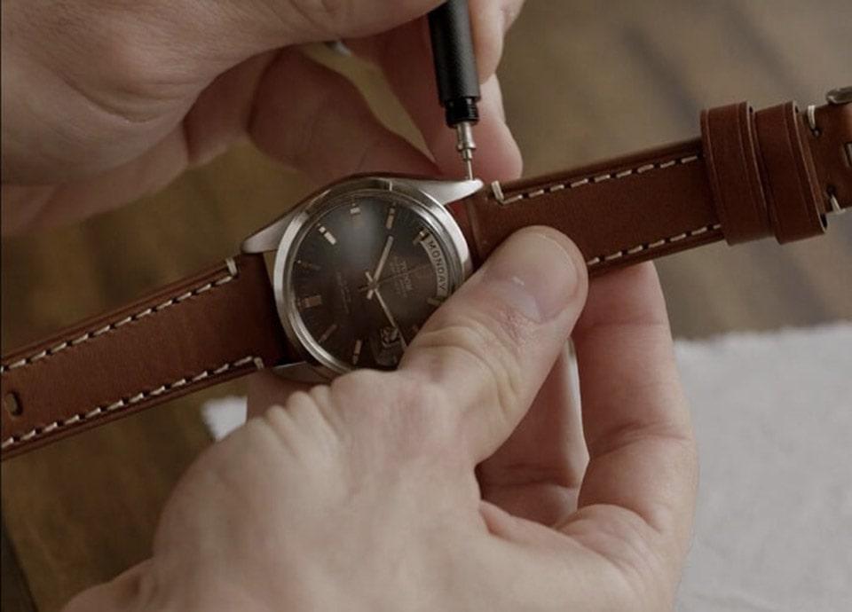 Địa chỉ bán dây da đồng hồ xịn tại Hà Nội