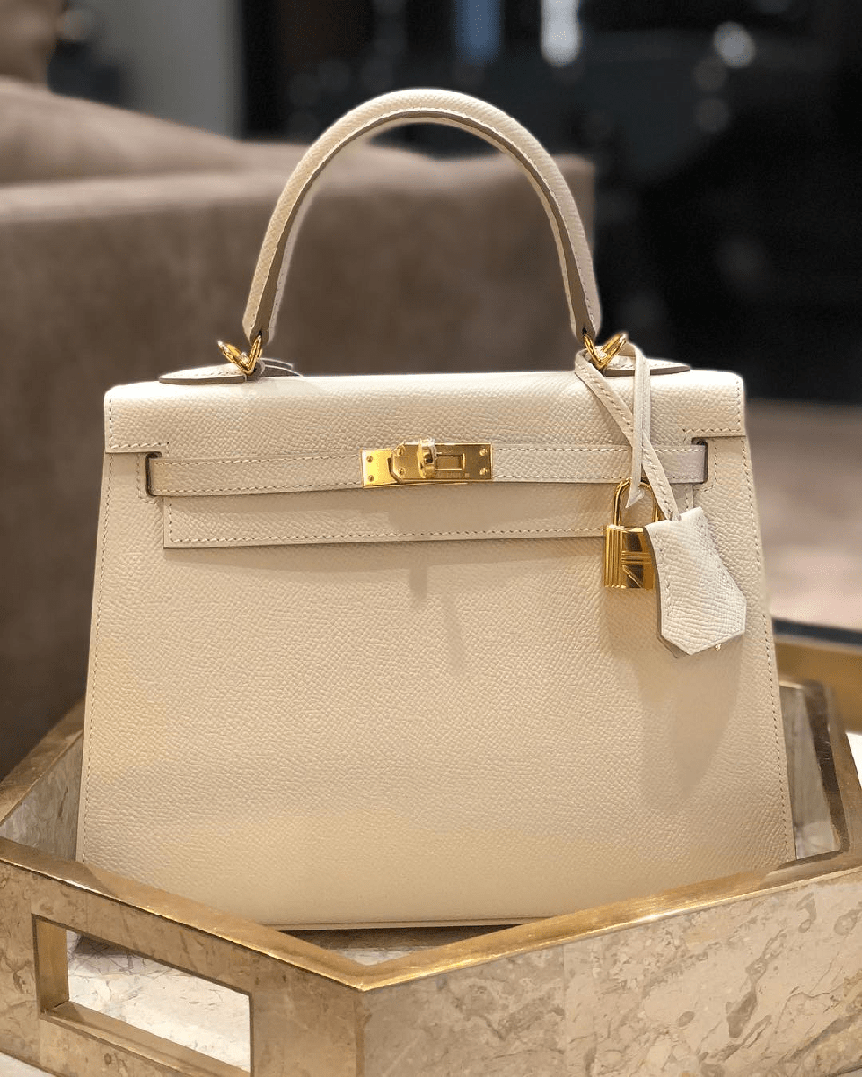 Túi xách da Epsom với thiết kế sang trọng