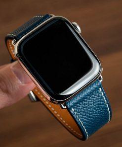 Dây đồng hồ da bò epsom apple watch trẻ trung