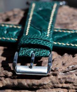 dây đồng hồ da đà điểu xanh ngọc trẻ trung