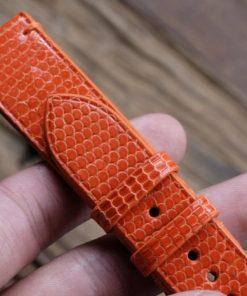 dây đồng hồ da kì đà chất da nhập khẩu