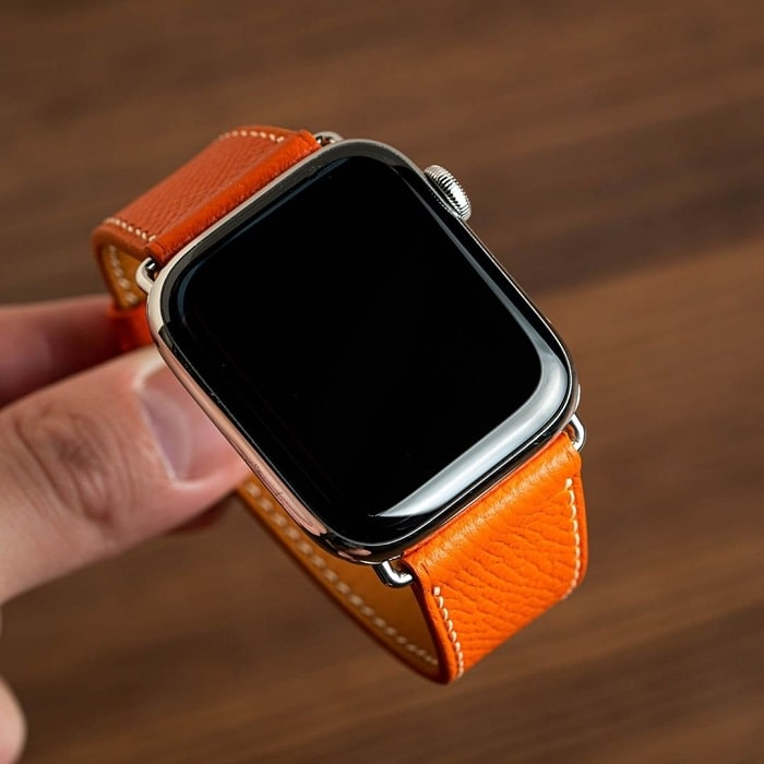 Dây đồng hồ da bò Epsom cho đồng hồ apple watch