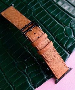 dây đồng hồ da bò epsom cao cấp