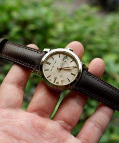 Dây đồng hồ da epsom thủ công