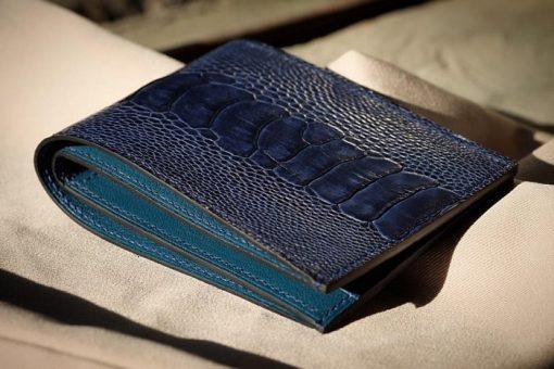 Ví Da Đà Điểu cao cấp Handmade